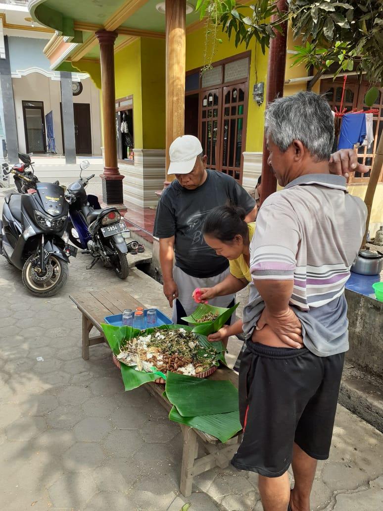 Do'a dan Keselamatan untuk mulai Pembangunan WC Komunal Dusun Tawang Tengah, DAK SANITASI 2019
